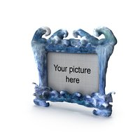 picture frame water 3D model