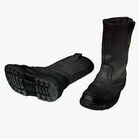 Builders Boots Black