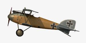 3D albatros d iii model