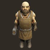 RPG Dwarven Blacksmith PBR