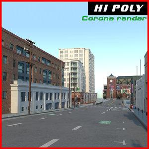city street model