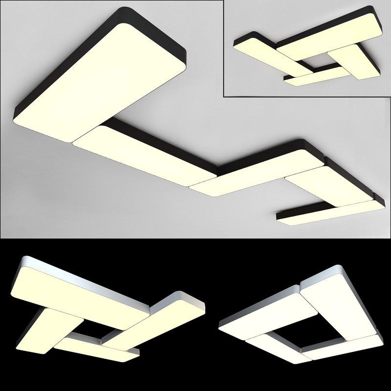 ceiling lamps 05 3D