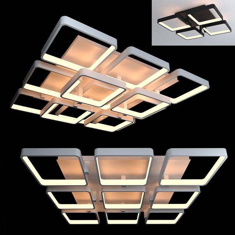 ceiling lamps 14 3D model