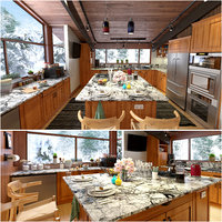 American Kitchen Concept With Craftsman Style