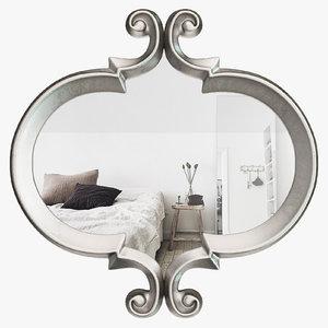 3D atgd5526 - oblong shape mirror