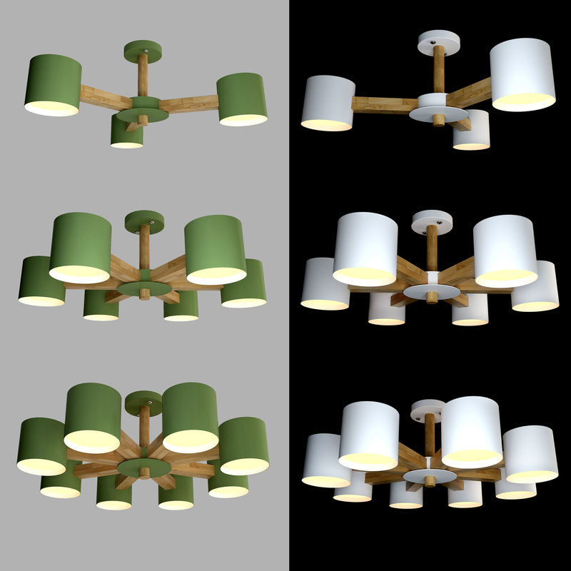 3D ceiling lamps light