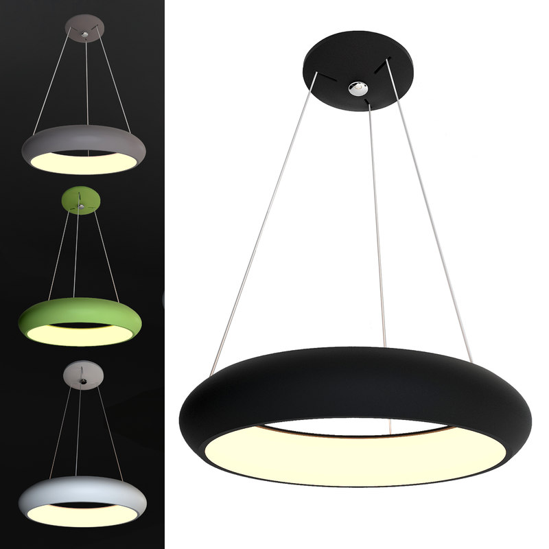 3D ceiling lamps model