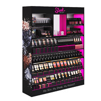 sleek makeup retail display 3D model