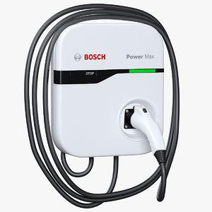 3D charging station bosch ev200 model
