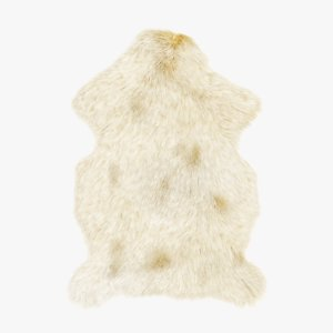 3D sheep skin fur