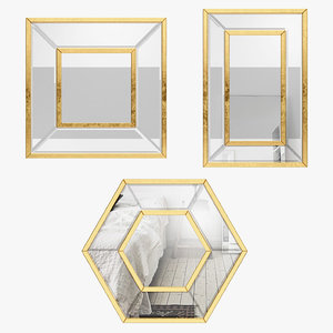 3D rosp5847 3 piece titania