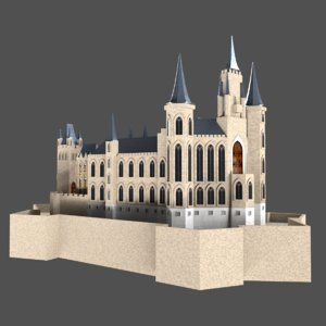 3D castles model