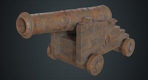 vessel cannon 1c model