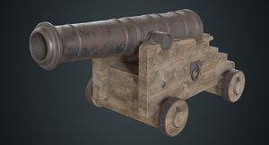 vessel cannon 1b 3D model