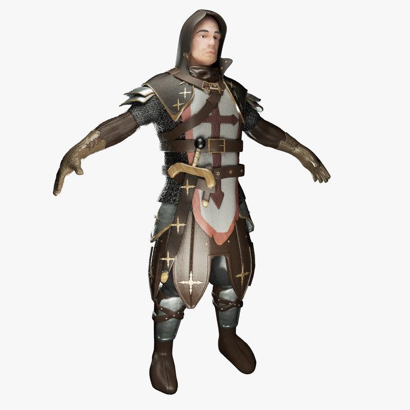 3D modern knight games