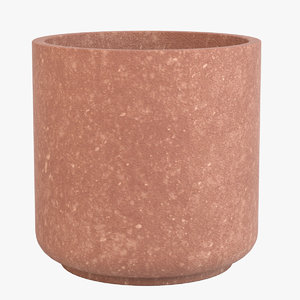 3D decorative pot model