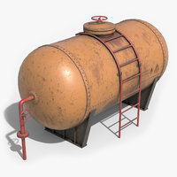 tank container 3D model