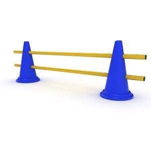 3D cone training