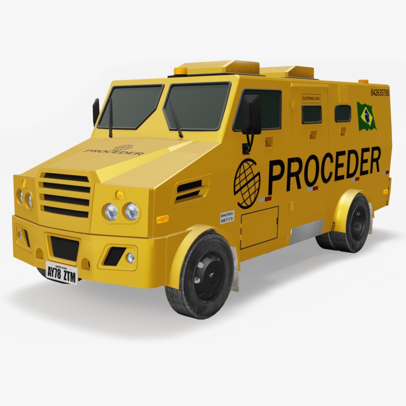 3D ready armored car
