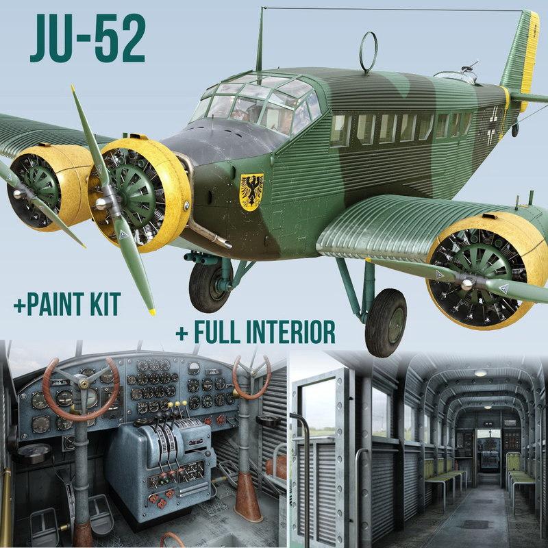 Junkers Ju-52 3m-g7 Model