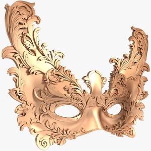 3D mask x1 model