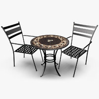 patio set model