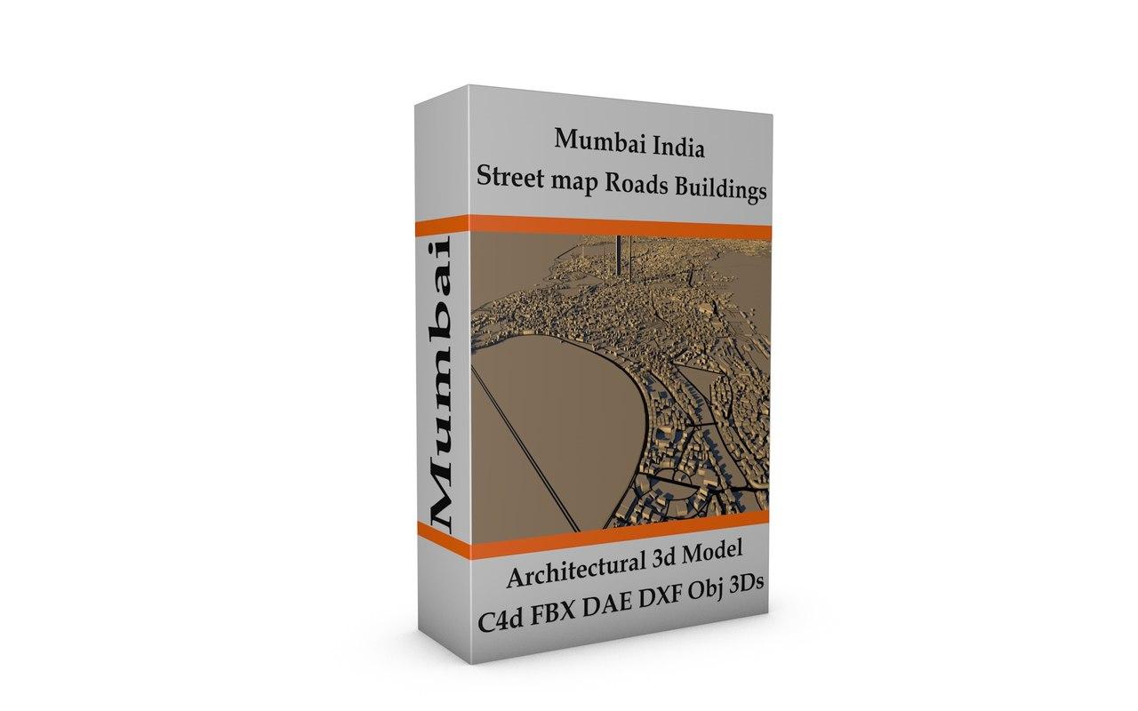 mumbai city 3D model