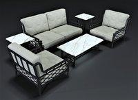 3D legardo outdoor set model