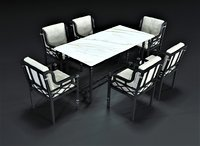 3D legardo dining set