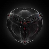 3D sci fi sphere model