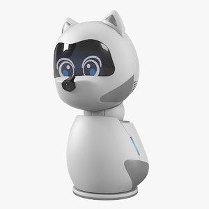 3D kiki pet robot