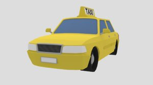 taxi vehicle cab model
