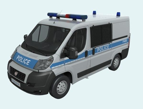 3D police2008 police model