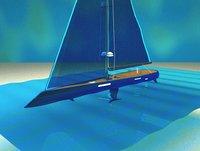 mega yacht model