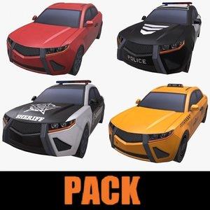 car pack polys model
