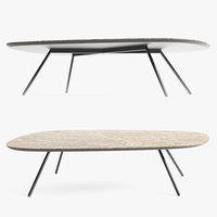 tweet coffee table ceramic 3D model