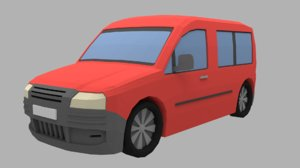 3D model car vehicle van