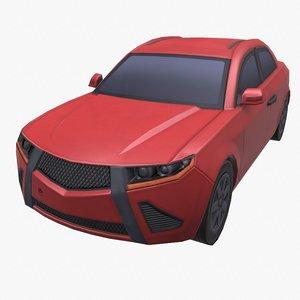 3D car civilian