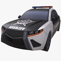 3D car sheriff