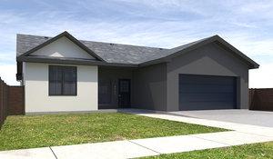 home house 3D model