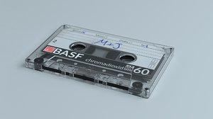3D model cassette