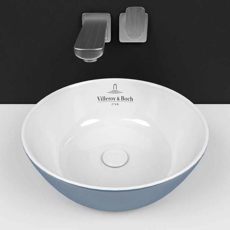 Villeroy Boch Sink Artis 3d Model Turbosquid 1368971