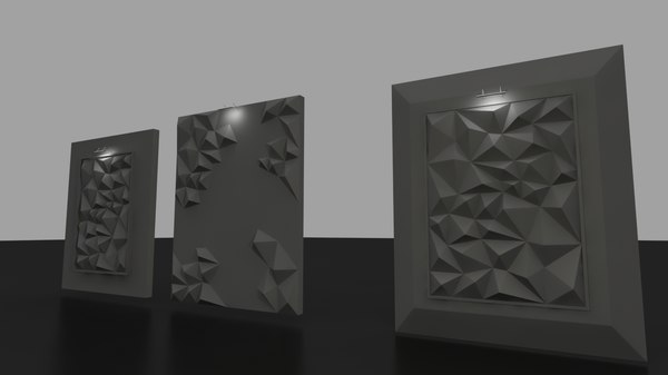 3D abstract pattern design