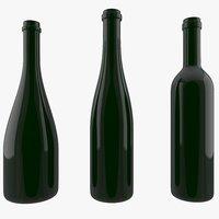 ワインの瓶コレクション