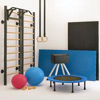 Gymnastics Equipment Sports Set