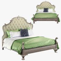 370-hfr66 upholstered panel 3D