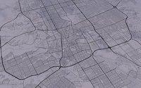 Riyadh city street map
