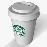 starbucks coffee cup 3D model