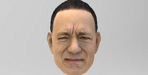tom hanks 3D model