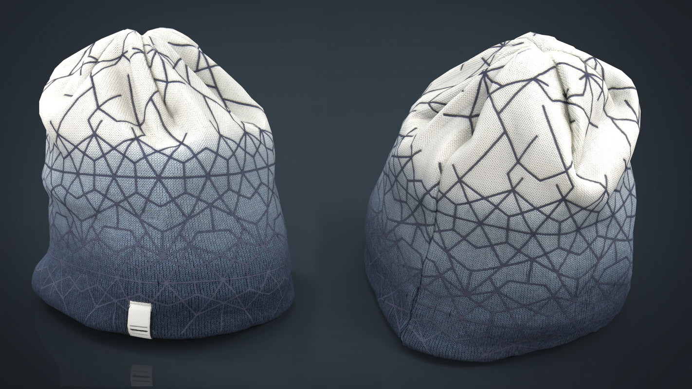 3D winter hat